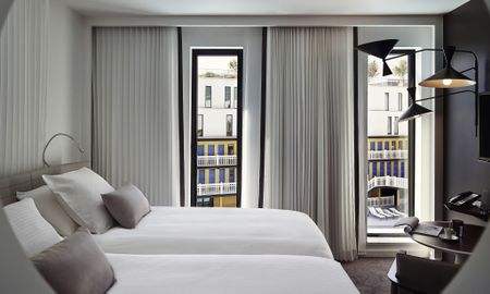Classik Twin Zimmer - Hotel Molitor Paris By MGallery - Paris