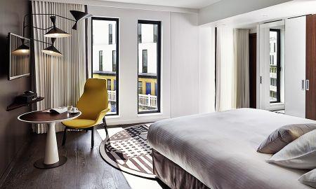 Chambre Deluxe avec Vue sur la Piscine - Hotel Molitor Paris By MGallery - Paris