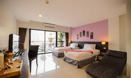 Pent con Vista y balcón - The Lantern Resort Patong - Phuket