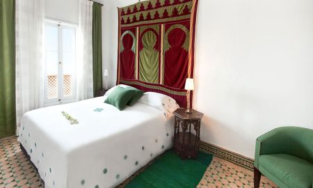 Quarto Deluxe Duplo Ibn Batouta - Albarnous Maison D'Hotes - Tânger