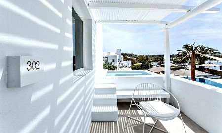 Superior Suite mit privatem Jacuzzi - Ostraco Suites - Mykonos