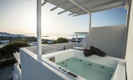 Deluxe 2Bedroom Suite With Outdoor Jacuzzi. - Ostraco Suites - Mykonos