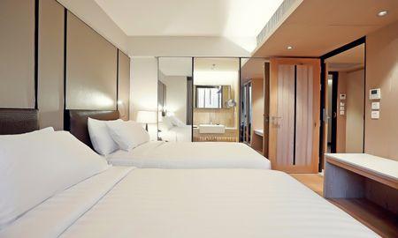 Habitación Twin Delujo - Arcadia Suites Ploenchit Sukhumvit By Compass Hospitality - Bangkok