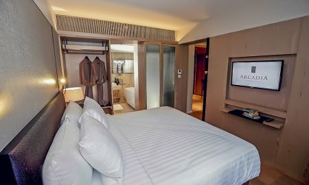 Chambre Deluxe - Arcadia Suites Ploenchit Sukhumvit By Compass Hospitality - Bangkok