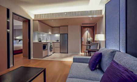 Quarto Superior - Arcadia Suites Ploenchit Sukhumvit By Compass Hospitality - Bangkok