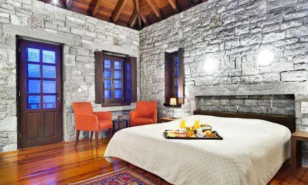 Quarto Familiar - Aristi Mountain Resort And Villas - Epirus