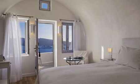 Quarto Duplo - Vista da Caldera - The Katikies Hotel - Santorini