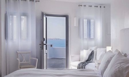 Junior suite - Vista Caldera - The Katikies Hotel - Santorini