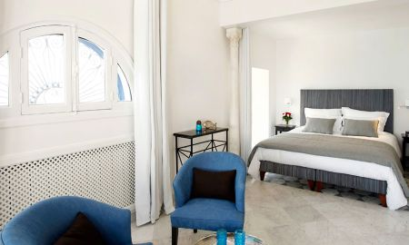 Suite Junior - Hotel La Villa Bleue - Sidi Bou Said