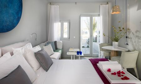 Номер Делюкс с видом на пляж - Mykonos Ammos Hotel - Mykonos