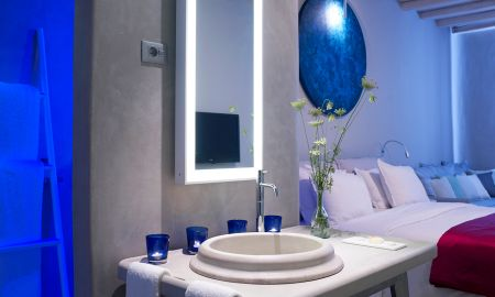 Улучшенный двухместный номер с видом на море - Mykonos Ammos Hotel - Mykonos