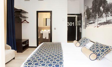 Quarto Duplo - Uso Individual - Hotel Soho Malaga - Málaga