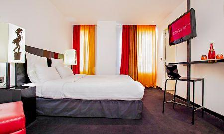 Chambre Deluxe Twin ou Double - Le Chat Noir Design Hotel - Paris