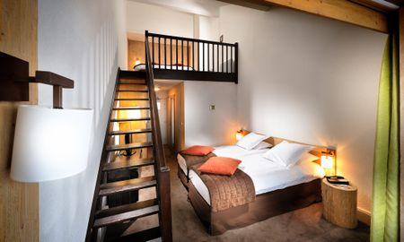 Suite Júnior Prestígio - Hôtel L'Aigle Des Neiges - Ródano-alpes