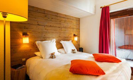 Quarto Clássico - Hôtel L'Aigle Des Neiges - Ródano-alpes