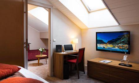 Quarto Executive Deluxe - Hôtel L'Aigle Des Neiges - Ródano-alpes