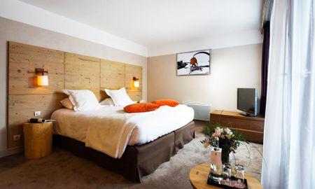 Quarto Deluxe - Hôtel L'Aigle Des Neiges - Ródano-alpes