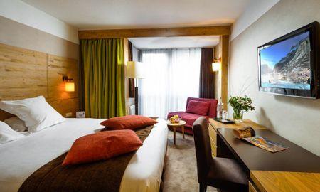 Superior Room - Hôtel L'Aigle Des Neiges - Rhône-alpes