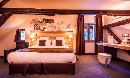 Chambre Deluxe - Le Grand Aigle Hôtel & Spa - Provence-alpes-côte D'azur
