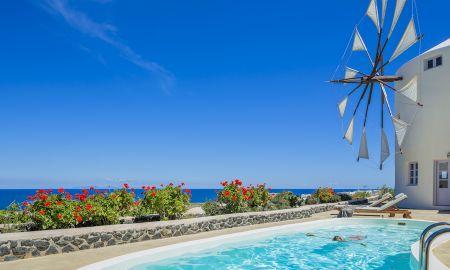 Villa Deux Chambres - Piscine Privée avec vue sur la mer - Windmill Villas - Santorini
