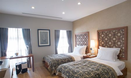 Quarto Twin Deluxe - Stories Hotel Kuloglu - Istambul