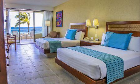 Habitación Superior Club Premium - Vista Frontal a la paya - Barcelo Gran Faro Los Cabos - Los Cabos