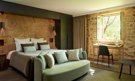 Suite Chai Double ou Lits Jumeaux - Hotel Chateau De Bagnols - Rhône-alpes