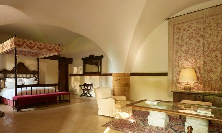 Suite Jardin Classique - Hotel Chateau De Bagnols - Rhône-alpes