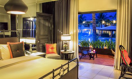 Pool View Room - Twin bed - Shinta Mani Shack - Siem Reap