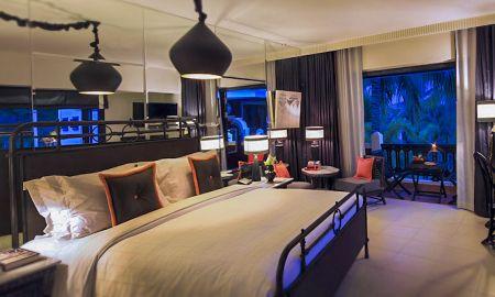 Chambre avec jardin près de la piscine - King bed - Shinta Mani Shack - Siem Reap