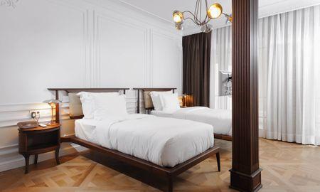 Habitación Twin Delujo con Balcón - Georges Hotel Galata - Estambul