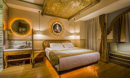 Auarto Duplo Deluxe com sofá - Hotel Sultania - Istambul