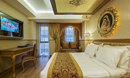 Quarto Duplo Deluxe com Varanda - Hotel Sultania - Istambul