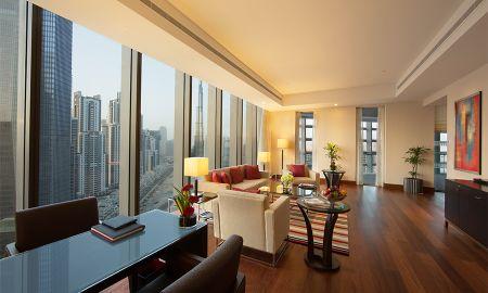 Suite di lusso con balcone privato - The Oberoi Dubai - Dubai