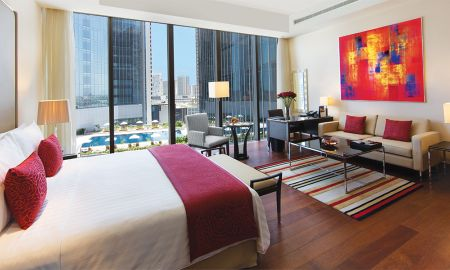 Chambre Luxury King - Vue Piscine - The Oberoi Dubai - Dubai