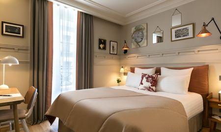 Quarto Individual - Hotel Royal Madeleine - Paris