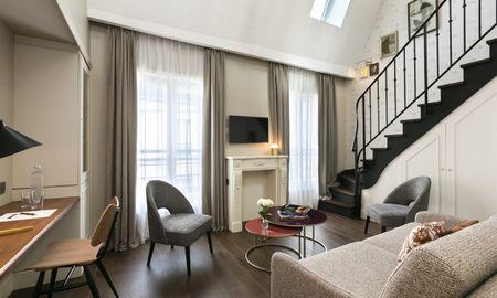 Quarto Duplex - Hotel Royal Madeleine - Paris