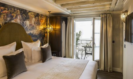 Superior Room with Balcony - Hotel Da Vinci - Paris