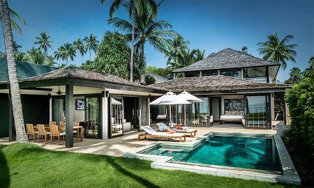 Villa 2 chambres sur Front de mer avec Piscine privée - Nikki Beach Resort Koh Samui - Koh Samui