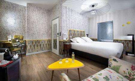 Suite Júnior Néo-rétro - Hotel Crayon Rouge By Elegancia - Paris