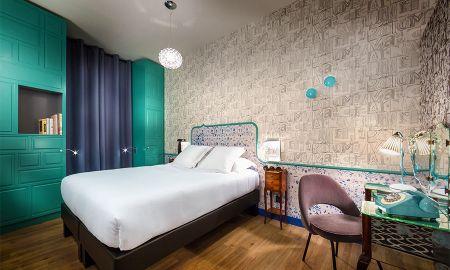 Quarto Prestige Cosmopolite - Hotel Crayon Rouge By Elegancia - Paris