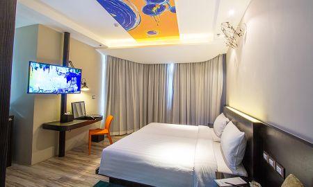 Двухместный номер или номер с двумя кроватями- бизнес класс - Siam@Siam Design Hotel Pattaya - Pattaya