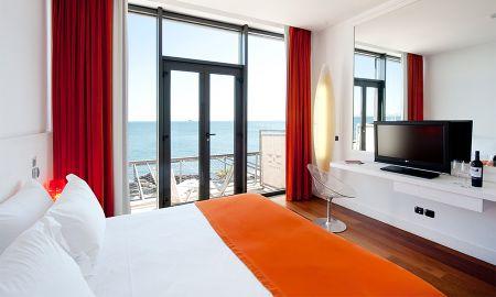 Chambre Designer Twin - Vue Mer - Farol Design Hotel - Lisbonne