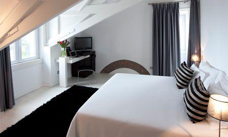 Chambre Twin - Vue Jardin - Farol Design Hotel - Lisbonne