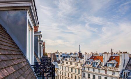 Junior Suite- Bleck Eiffel - Hotel Pont Royal - Paris