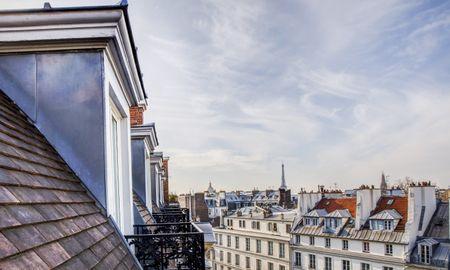 Suite Junior avec Vue Tour Eiffel - Hotel Pont Royal - Paris