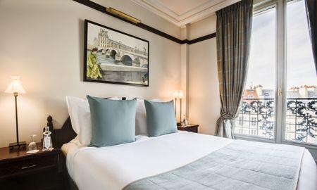 Chambre Deluxe avec Balcon - Hotel Pont Royal - Paris