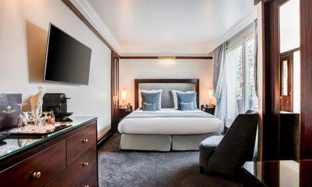 Deluxe Zimmer - Bleck Eiffel - Hotel Pont Royal - Paris