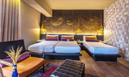 Quarto Grand Deluxe Família - Siam@Siam Design Hotel Bangkok - Bangkok