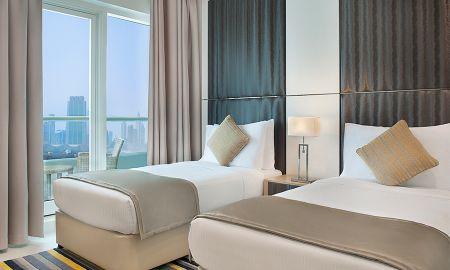Suite deux Chambres - Vue sur Centre-Ville - DAMAC Maison Canal Views - Dubai
